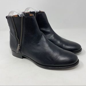 Frye Carly Ankle Boots Black Size 9